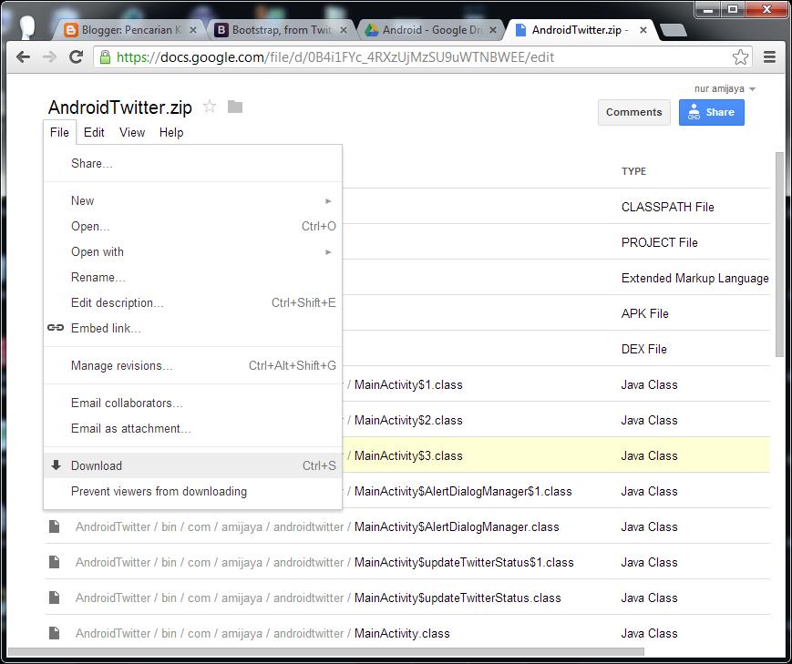 Karena banyak yang agak bingun bagaimana Cara Mendownload File Project ...