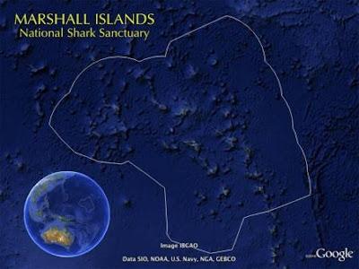 El santuario de tiburones más grande del mundo.