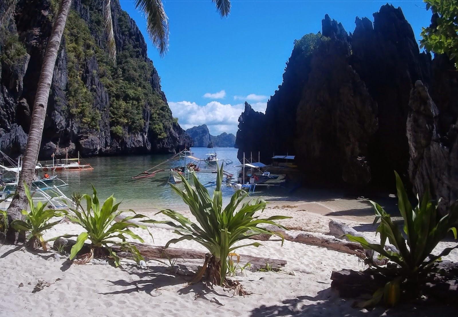 Praias paradisíacas em El Nido