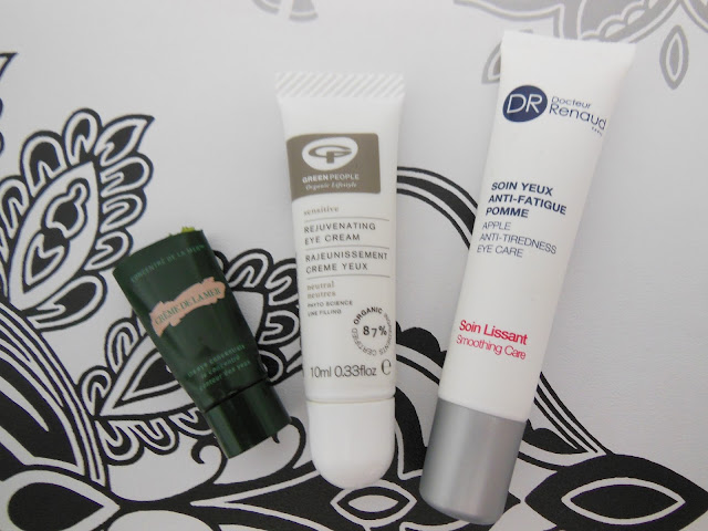 selection of eye creams