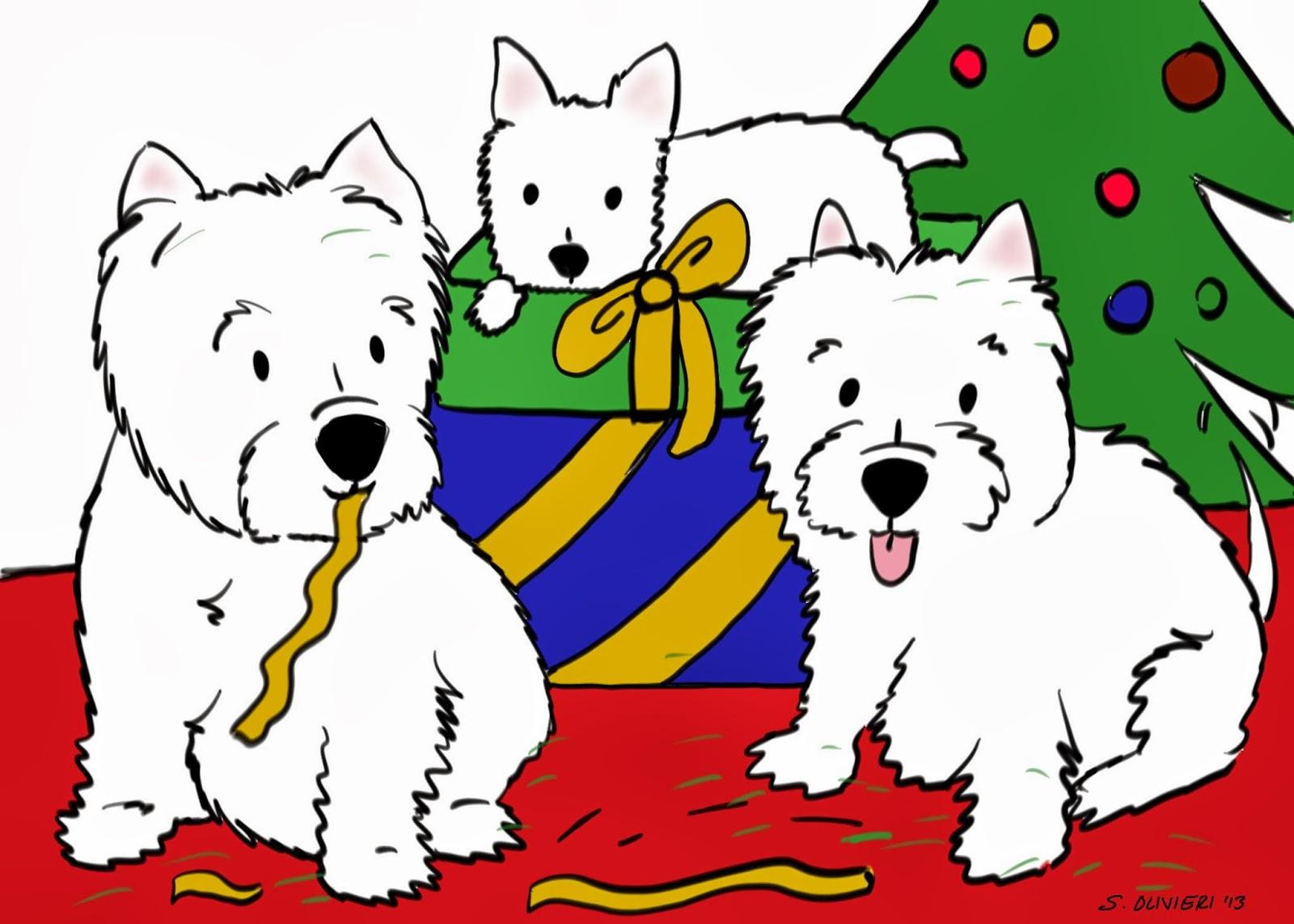 New Christmas Cards! Westies