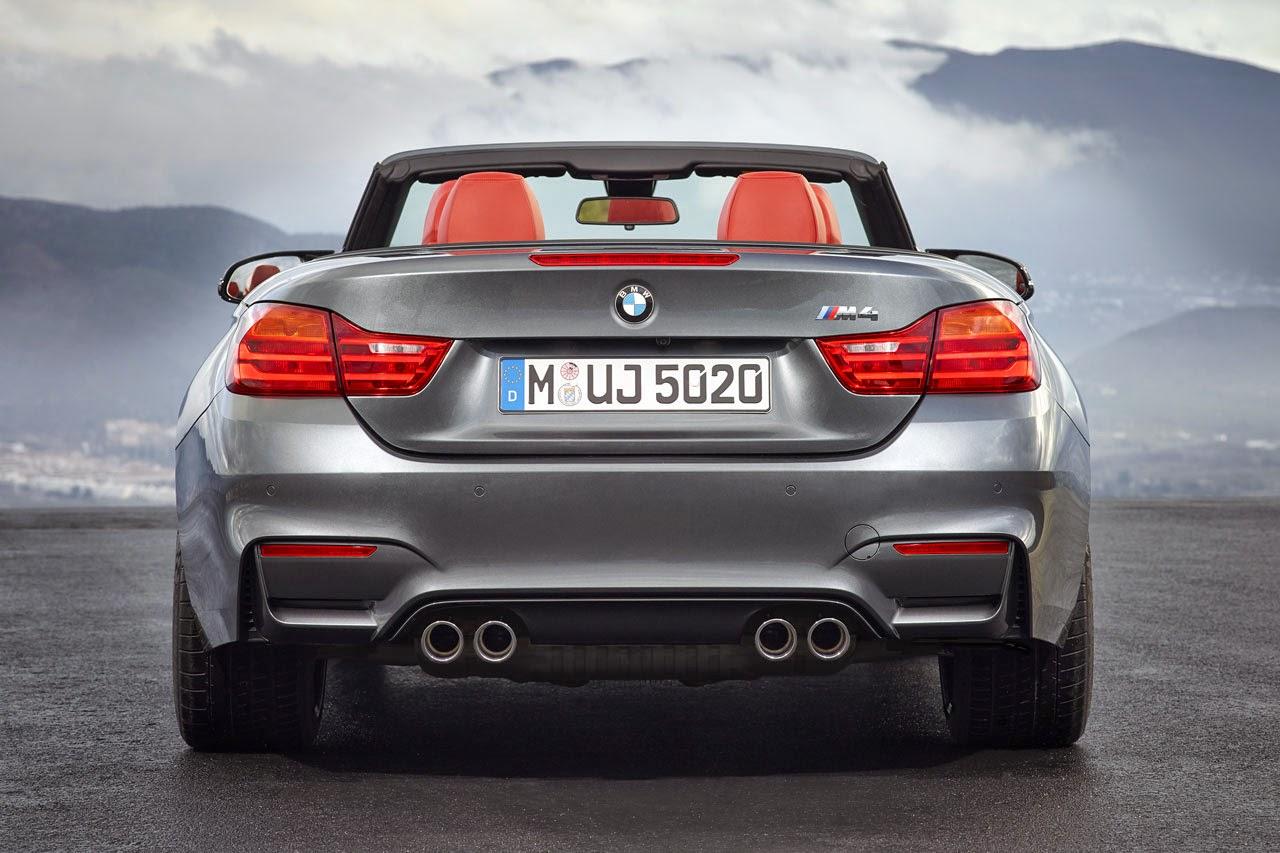 BMW M4 Convertible back