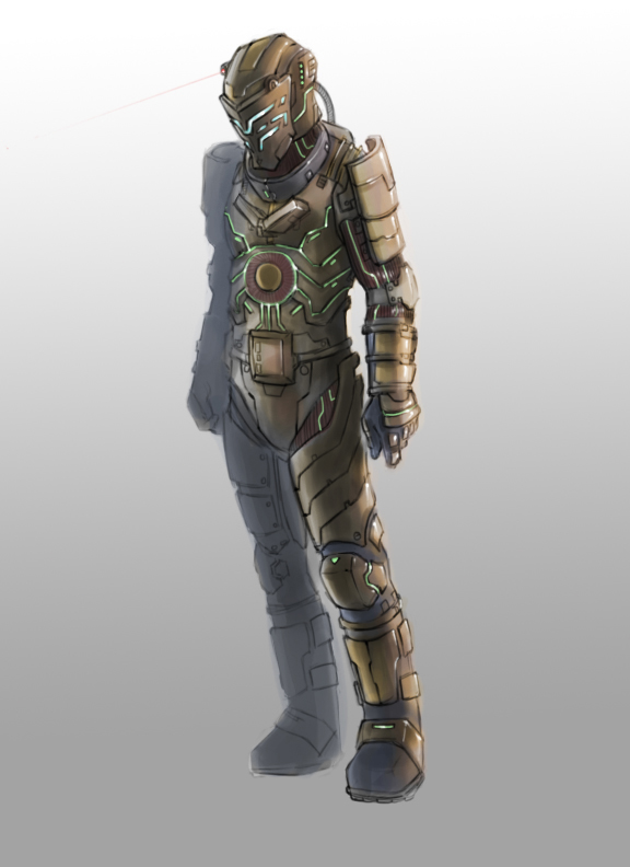 Dead space suit design pics about space for Space suit design