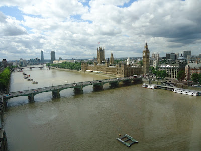 Big Ben seen from the London Eye