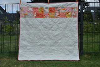 moda Twenty Three charm square quilt