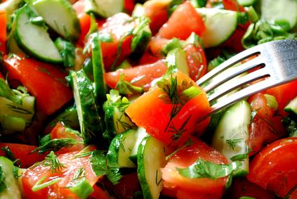 סלט ירקות טרי