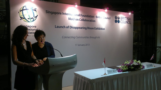 Disappearing Moon, Singapore, British Council, Airx, Singapore International Foundation