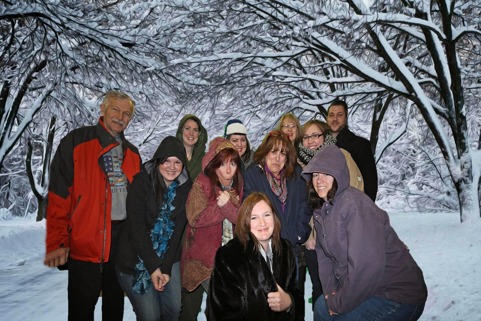 Realty Masters Staff freezing in Florida~  Pensacola Property Management
