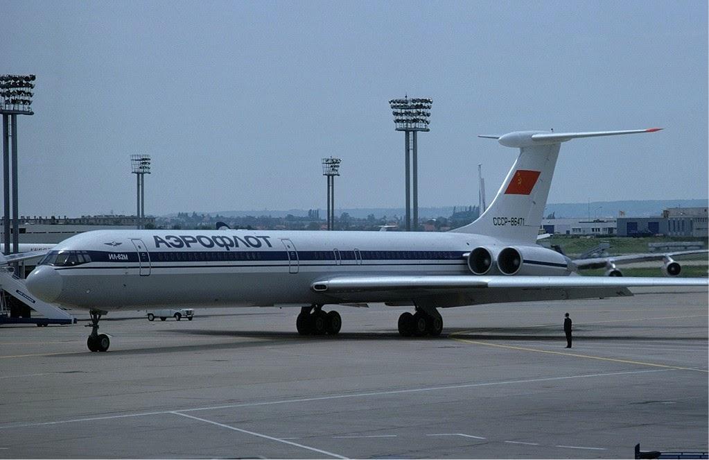 Norskflot Valdisky Aeroflot_Ilyushin_Il-62_-_CCCP-86471