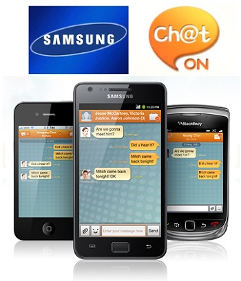 Chaton.com: Samsung's New Free Mobile Messaging Service