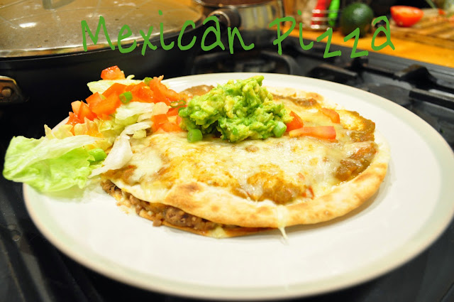 Chicken Mexican Pizza