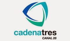 Cadena Tres - Canal 28 en vivo