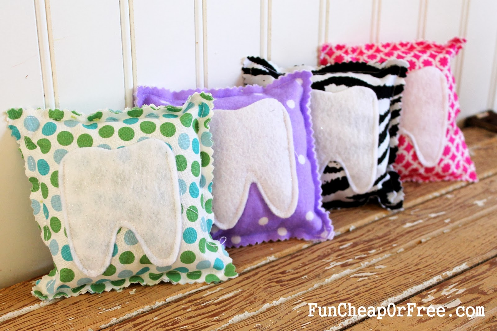 Easy DIY tooth fairy pillows!