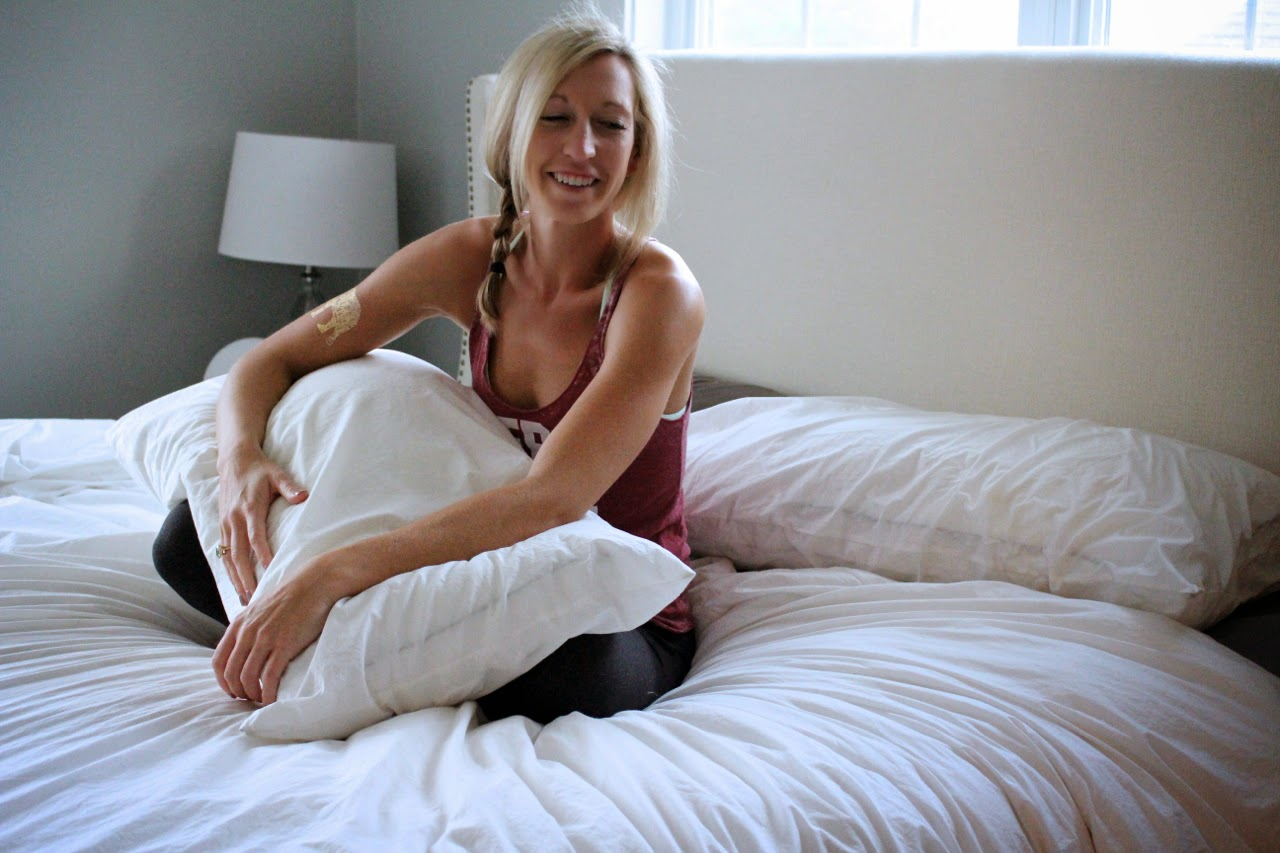 8 Morning Yoga Poses to Do in Bed