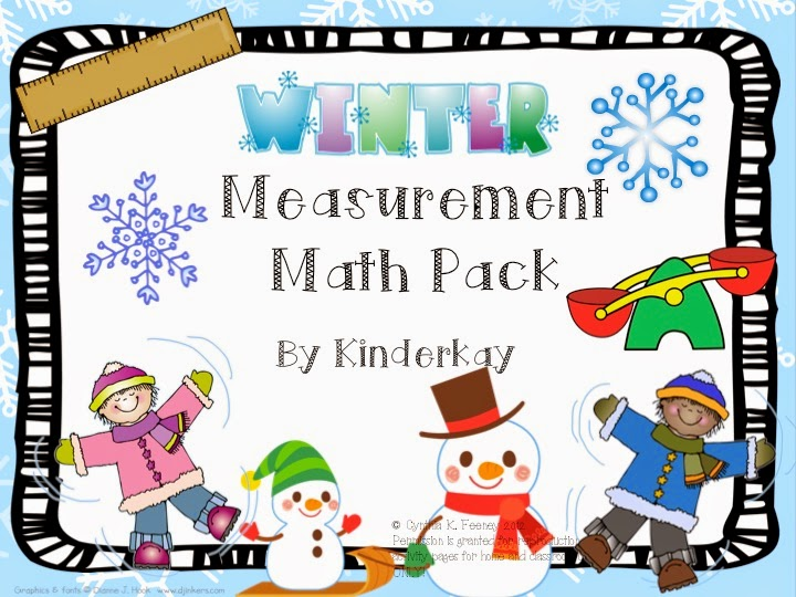 http://www.teacherspayteachers.com/Product/Winter-Measurement-Math-Pack-188901