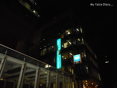 Hotel Villa Fontaine Roppongi, Japan - Night view