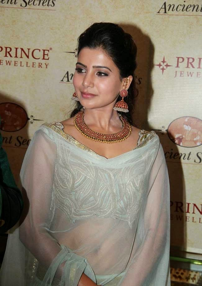 Samantha Inaugurates Prince Jewellery Showroom
