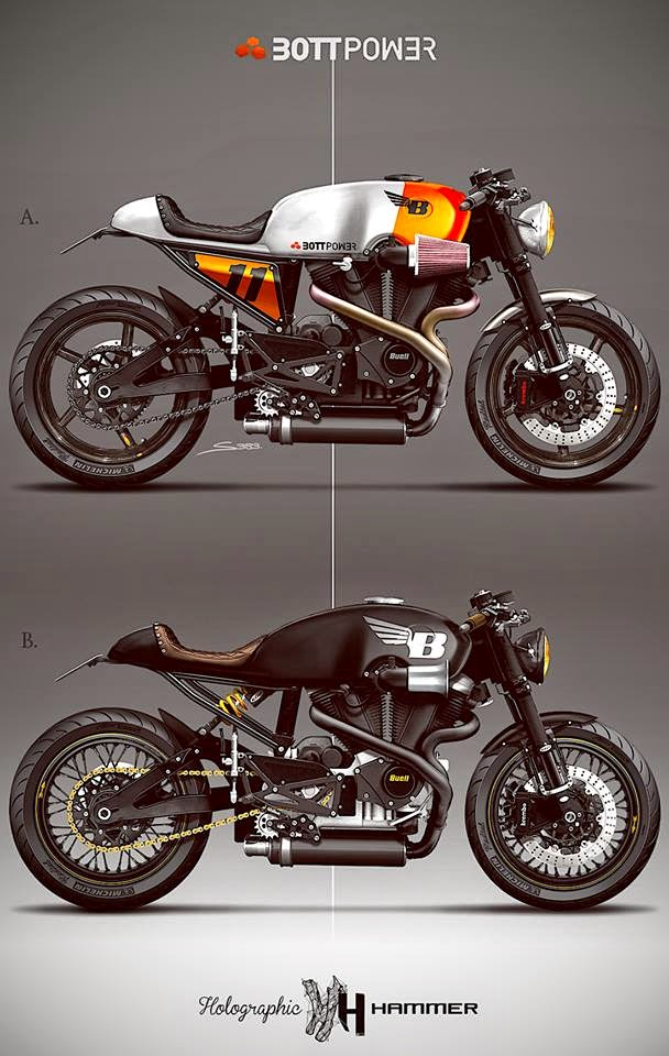 racing caf caf racer concepts buell xb12s bottpower 1 by holographic hammer. Black Bedroom Furniture Sets. Home Design Ideas