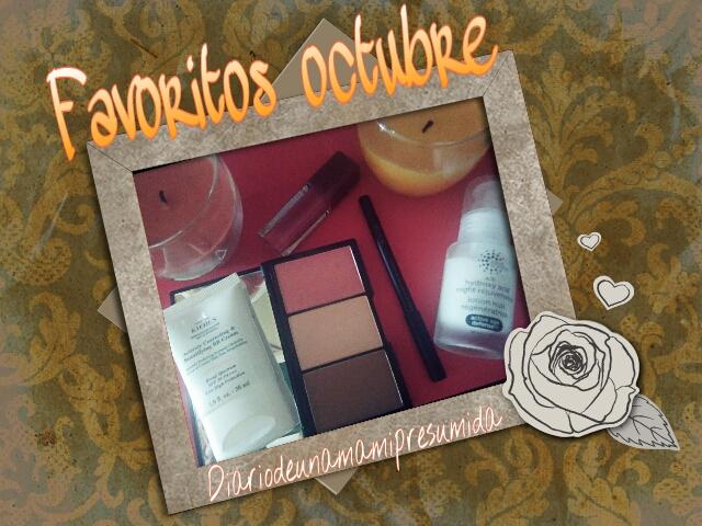 favoritos de octubre maquillaje y sérum
