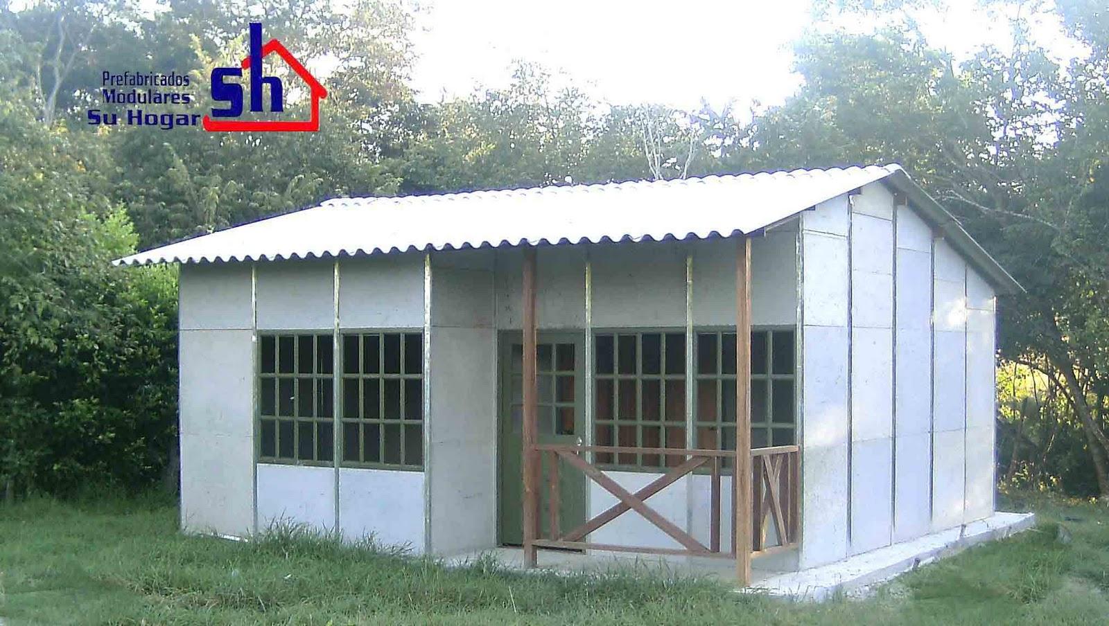 Casas Prefabricadas - Casas De Cemento Prefabricadas - Mimasku.com