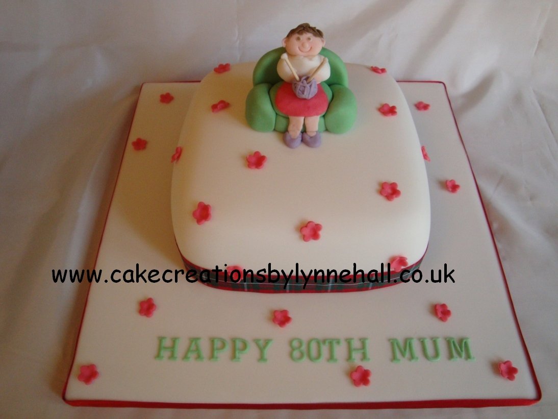 Knitting Cakes Images : The knitting needle and damage done is a piece of cake