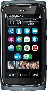 Nokia 801T Symbian Anna OS Mobile