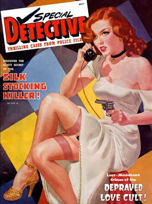 Special Detective pulp cover by George Gross