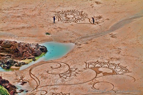 Lukisan Menakjubkan Di Atas Pasir Fssa