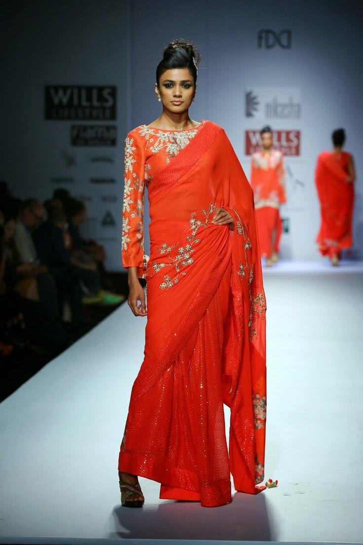 Nikasha Show At Wills Lifestyle India Fashion Week 2014 Vega Fashion Mom