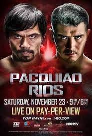 BOXING: Manny Pacquiao vs Brandon Rios (Full Fight)