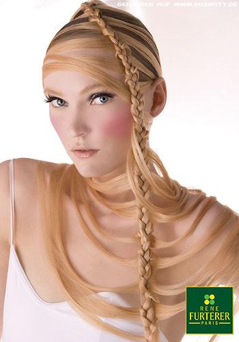 Peinados Y Moda Peinados Extravagantes Con Trenzas