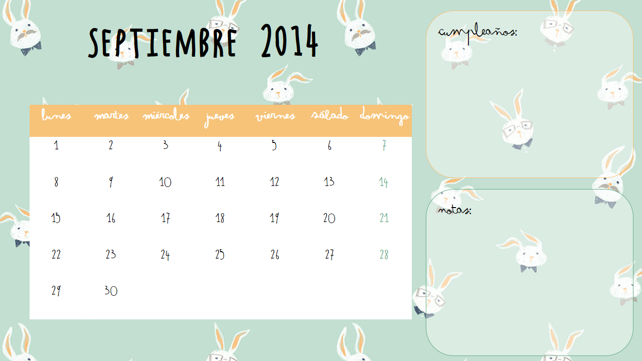 Calendario A Sweet Winter