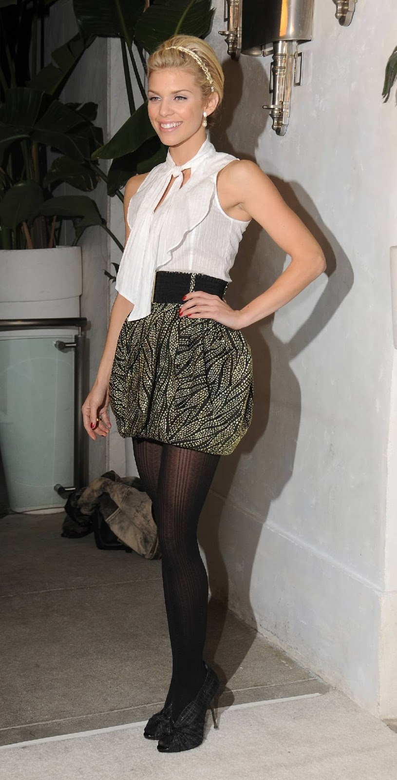 Love this annalynne mccord pantyhose your