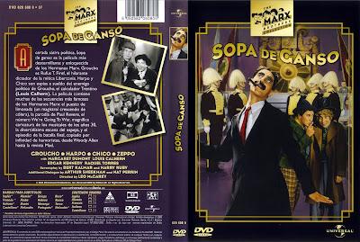 Carátula »Sopa de ganso (Duck Soup - 1933)