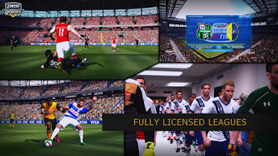 Patch PES 2016 Terbaru dari PES Galaxy Patch 1.0 AIO