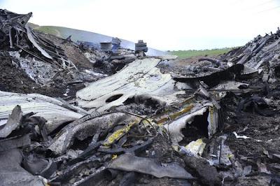 us-military-plane-debris