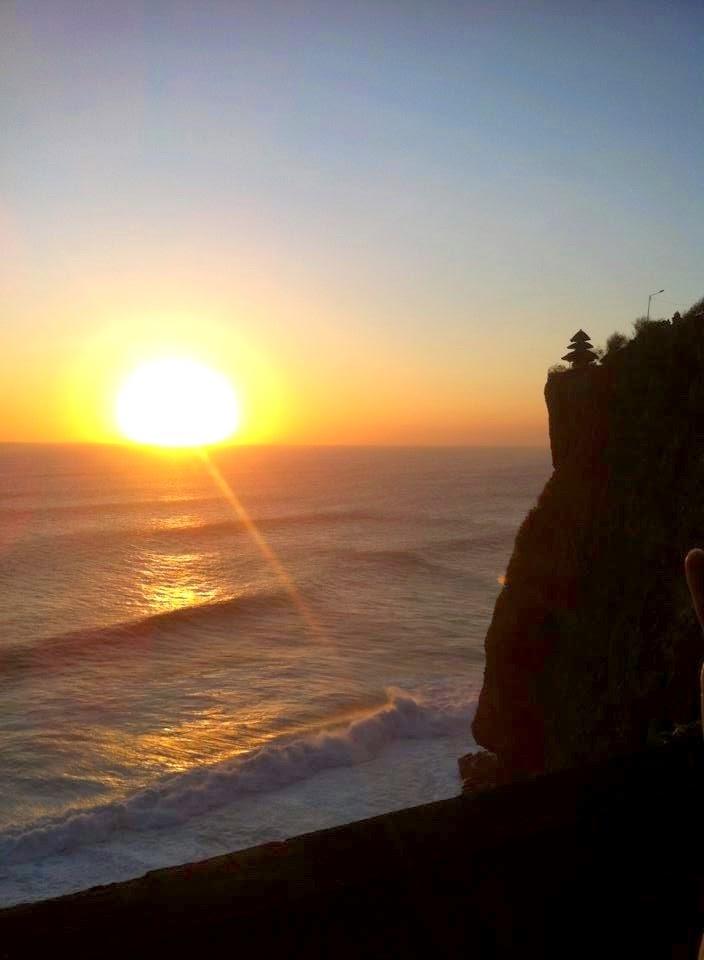 Sunset in Uluwatu, Bali Indonesia