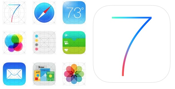 Apple iOS 7 Shows Alternative Icons on website
