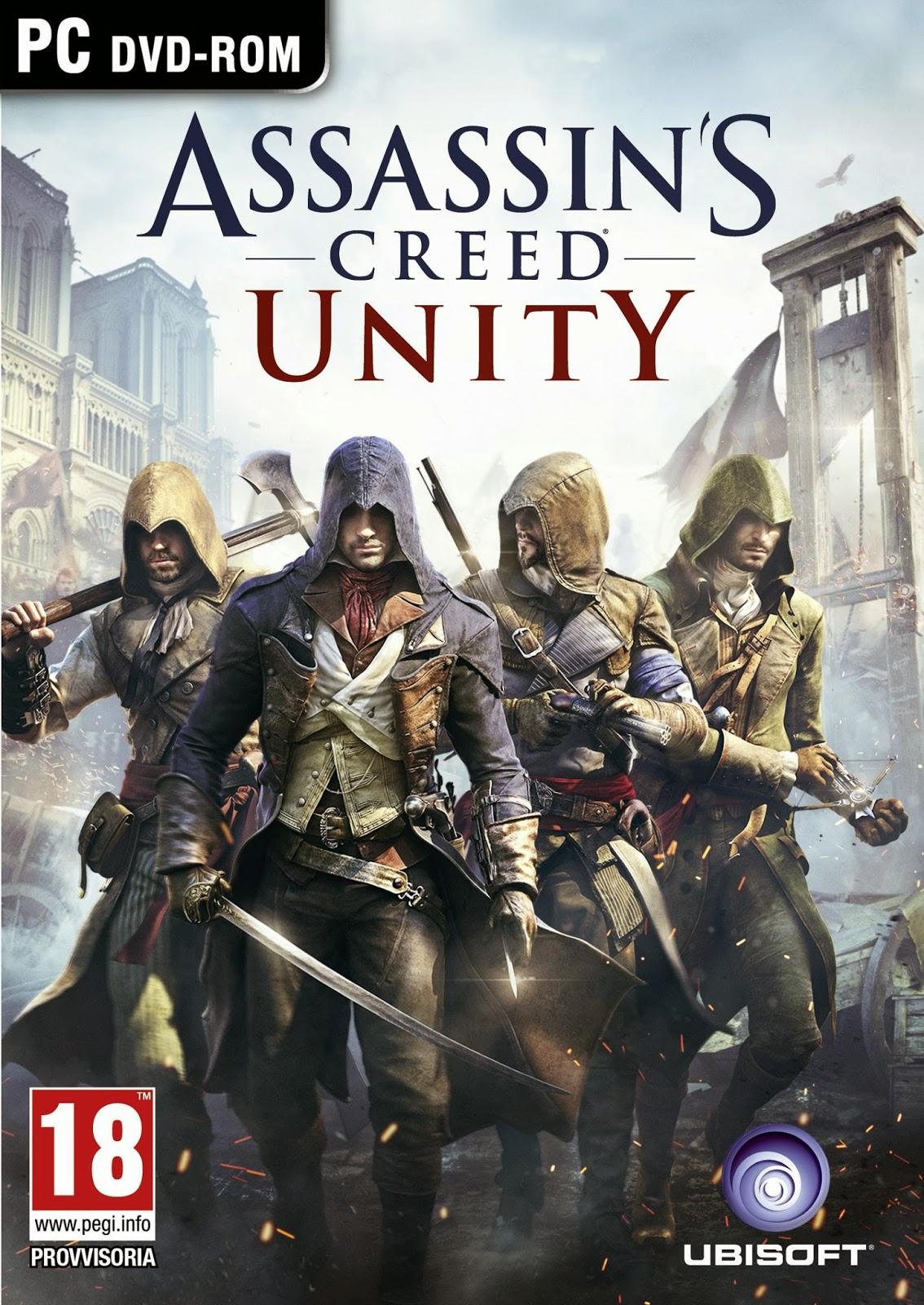 تحميل لعبة  Assassin's Creed Unity نسخة PC - تحميل مباشر