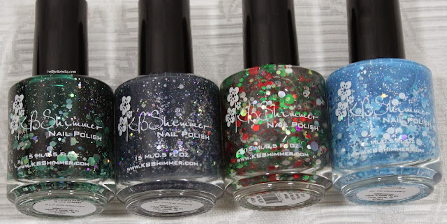 KB Shimmer Nail Polish Winter 2013