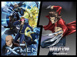 Marvel Anime X-Men & Marvel Anime Wolverine