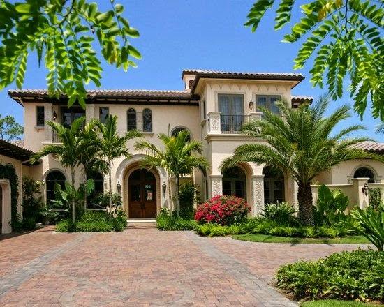 Fachadas de casas mediterranea iii for Fachadas de casas en miami florida