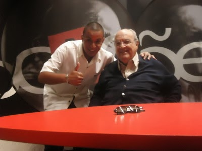 Hugo Paz e Antonio Abujamra
