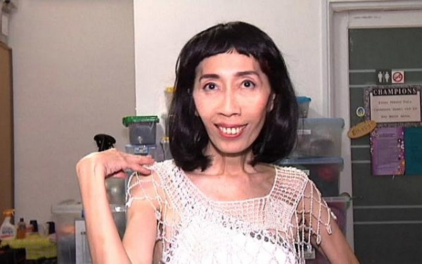 Abigail Chay. Chay is one of Singapore's most famous transgender comediennes and entertainers. The skinny, broad-mouthed comedienne is best known for her roles as Aunty Abigail in local TV sitcom Under One Roof in the 1990s, and as a lonely ghost in the Channel 5 comedy series Maggi And Me in the 2000s. She was born Caesar Chay Tuck Kwong, but at age 22, she underwent a sex reassignment surgery to become female. Her surgery and tumultuous love life were dramatised in a Hong Kong musical in 2012. -- PHOTO: RAZOR TV
