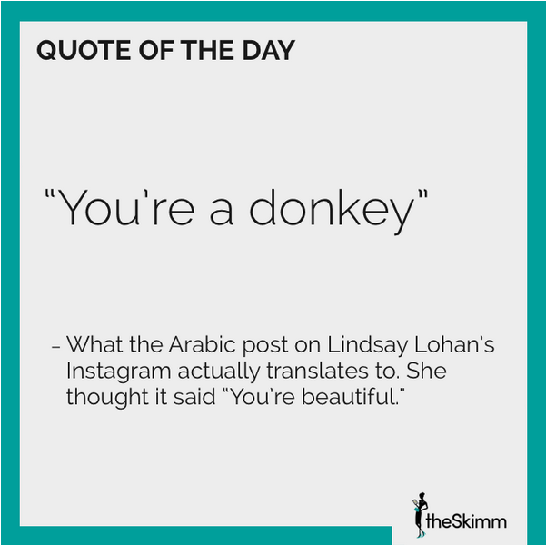 theSkimm quote of the day
