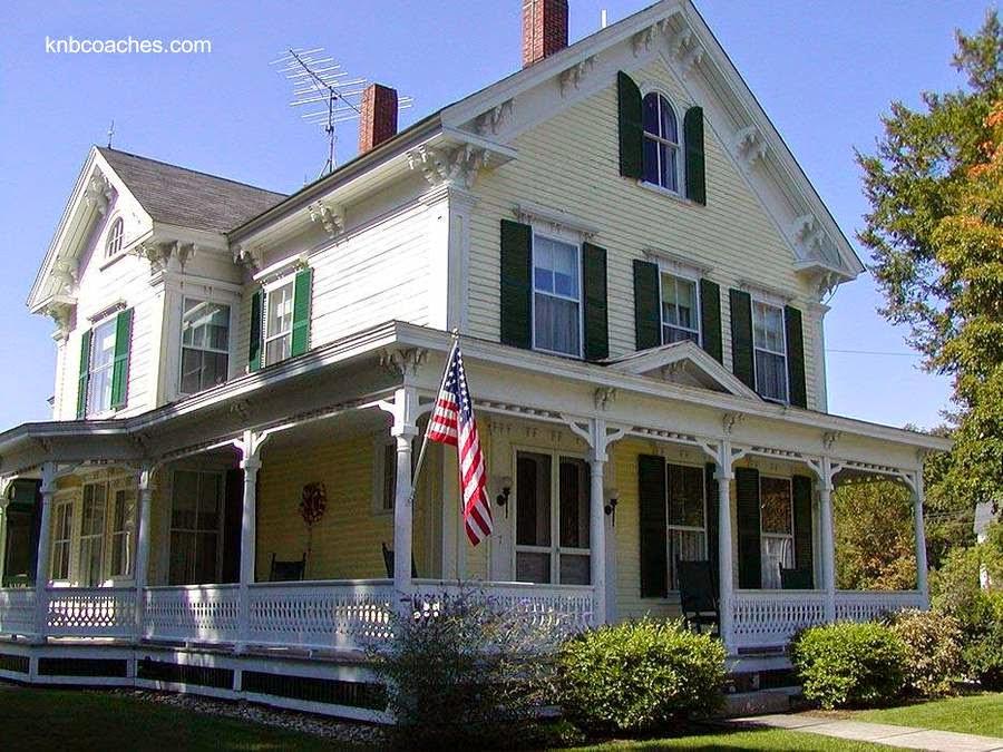 Casa americana de los Estados Unidos