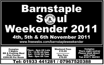 Barnstaple Soul Weekender 2011