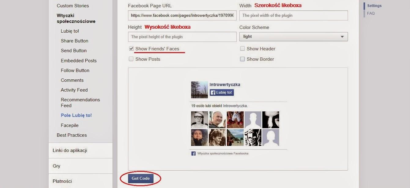 Jak wstawić Likebox na blog?