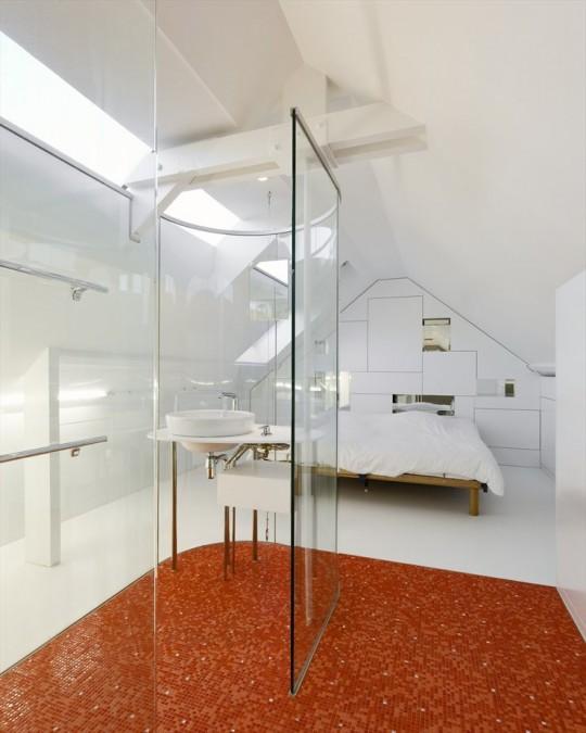 Ba o integrado con paredes de cristal ideas para decorar - Banos con paredes de cristal ...