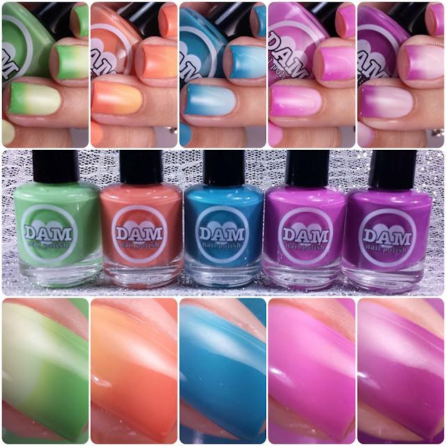 Dam Nail Polish - Rainbow Reboot Collection